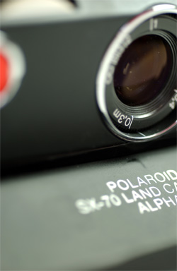 Polaroid SX-70 image by Adriano Antonini